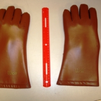 Wolfe Leather Medical X Ray Radiation Lead Protective Gloves